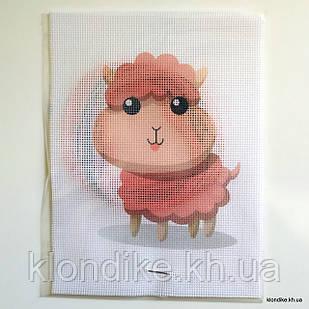 """Набор для вышивания крестом """"Овечка"""", 19×14 см"""