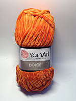 Пряжа dolce - цвет рыже - оранжевый