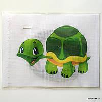 """Набор для вышивания крестом """"Черепашка"""", 19×14 см"""
