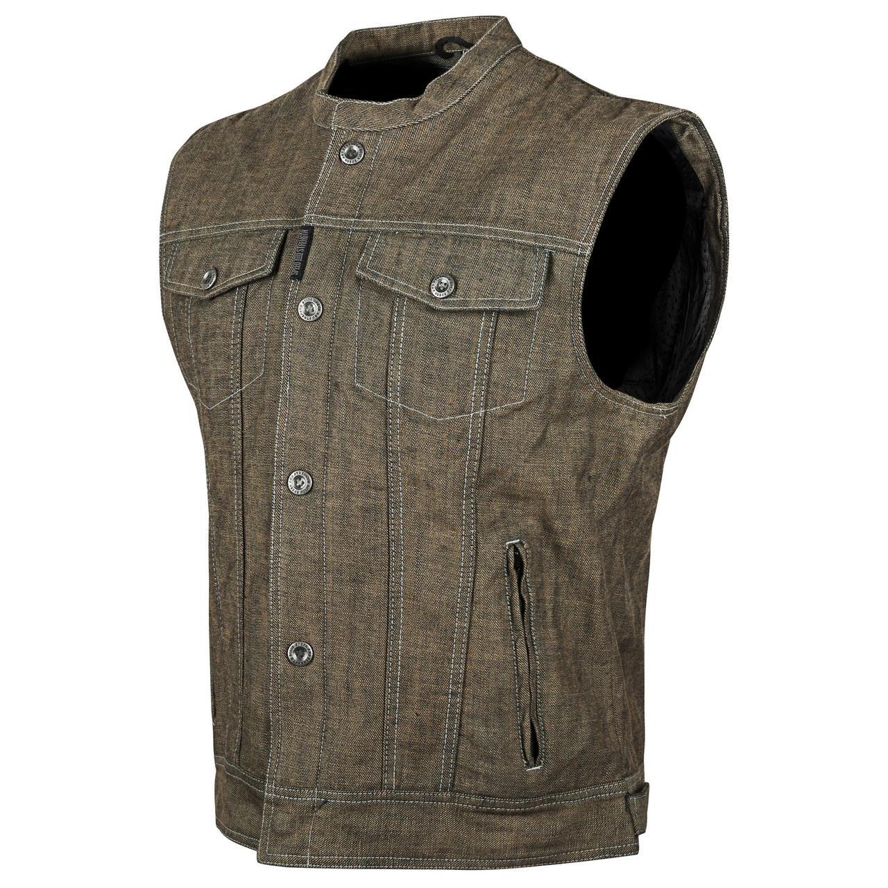 Жилет Speed and Strength Men's Soul Shaker Denim Vest Browm, M