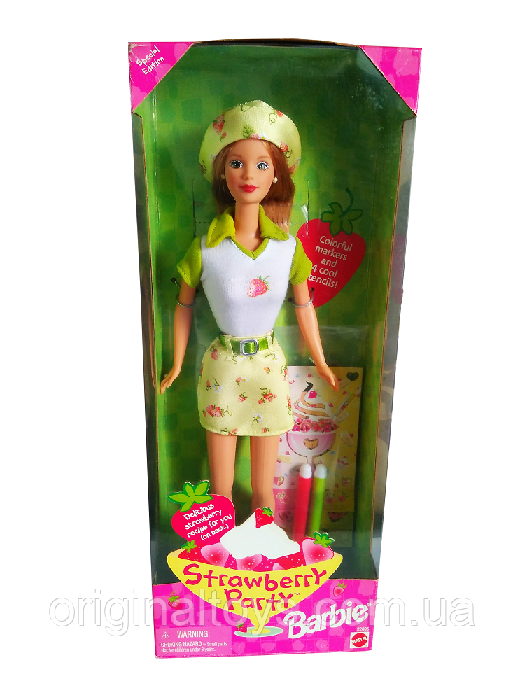 Коллекционная кукла Барби Barbie Strawberry Party 1998 Mattel 22895