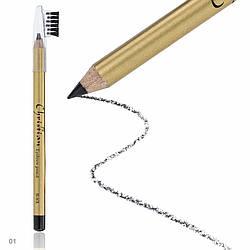 Олівець для брів зі щіточкою Christian № 01 CH-3