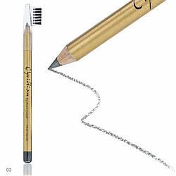 Олівець для брів зі щіточкою Christian № 03 CH-3