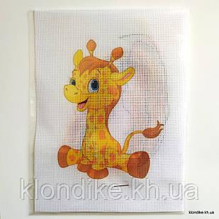 """Набор для вышивания крестом """"Жирафик"""", 19×14 см"""