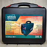 Сварочный аппарат Spektr 380А в кейсе, фото 2