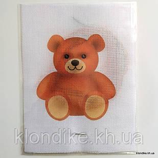 """Набор для вышивания крестом """"Медвежонок"""", 19×14 см"""
