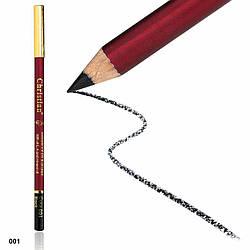 CH-7 Контурный карандаш для глаз и губ №001 Black