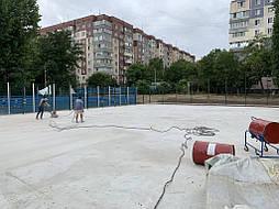 Покрытие для баскетбольной площадки г.Одесса 1