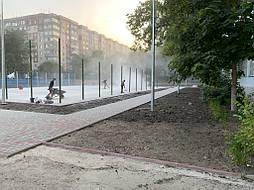 Покрытие для баскетбольной площадки г.Одесса 2