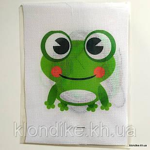 """Набор для вышивания крестом """"Лягушка"""", 19×14 см"""