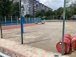 Покрытие для баскетбольной площадки г.Одесса 8