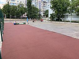 Покрытие для баскетбольной площадки г.Одесса 9