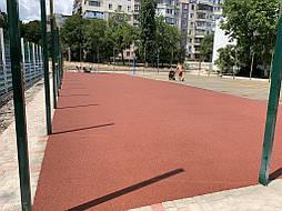 Покрытие для баскетбольной площадки г.Одесса 10