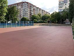 Покрытие для баскетбольной площадки г.Одесса 11
