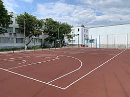 Покрытие для баскетбольной площадки г.Одесса 14