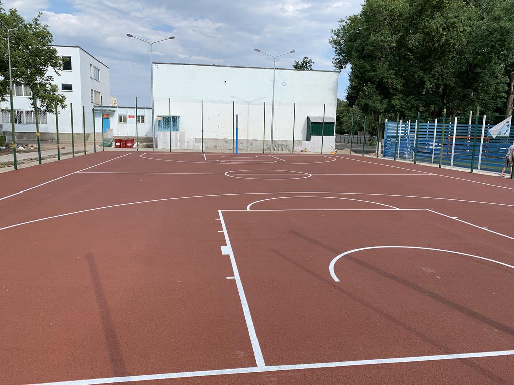 Покрытие для баскетбольной площадки г.Одесса