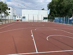Покрытие для баскетбольной площадки г.Одесса 15