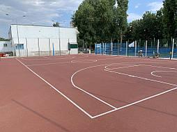 Покрытие для баскетбольной площадки г.Одесса 16