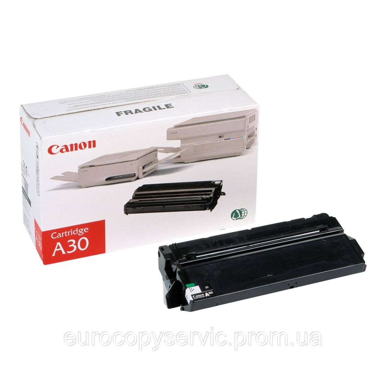 Тонер-картридж Canon A30 FC1/2/3/5, PC6/7/11 ресурс 3 500 стор. Black (1474A003) Original