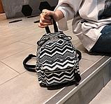 Маленький плетеный рюкзак, фото 2