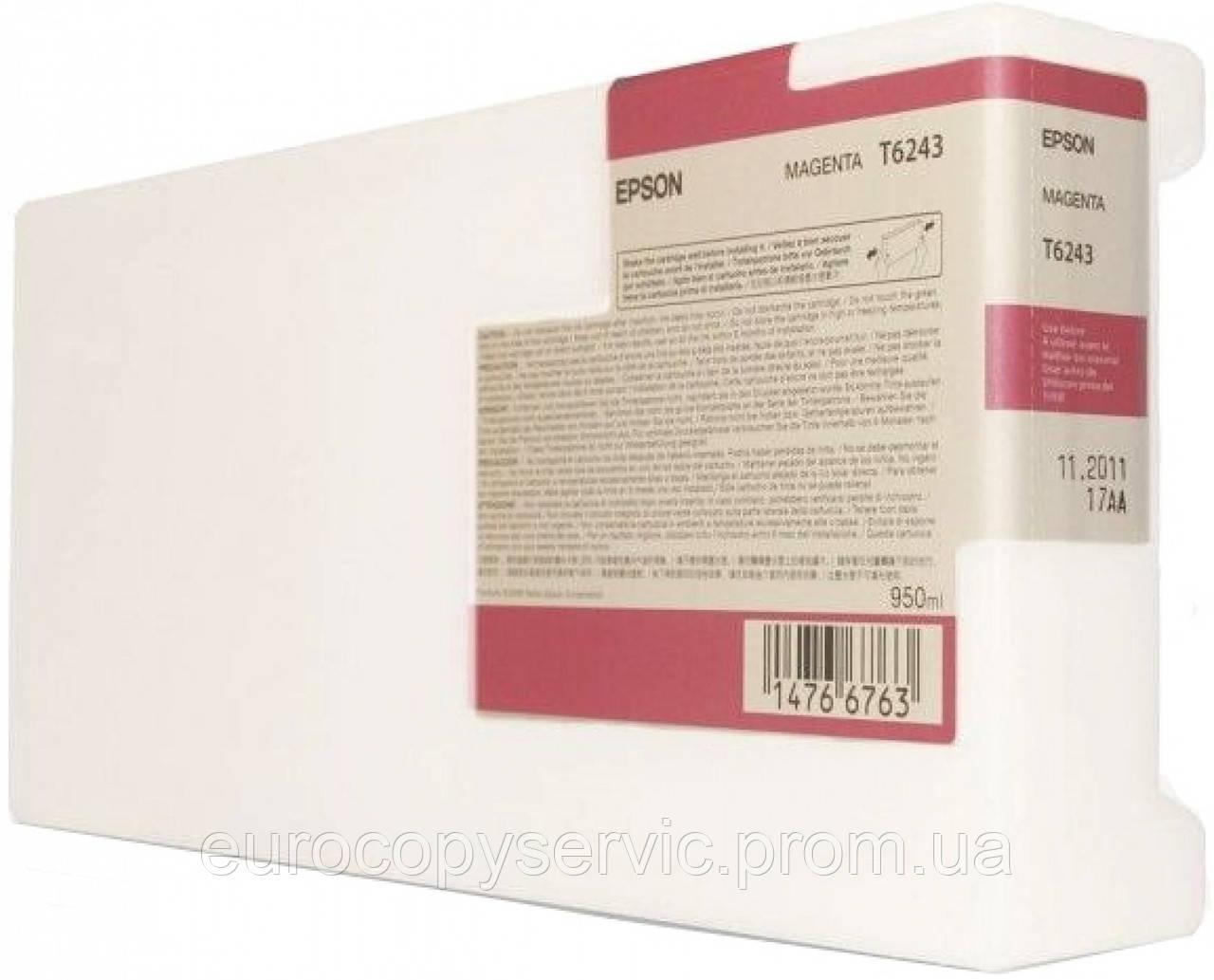 Картридж Epson SP-GS6000 Magenta (C13T624300) Original