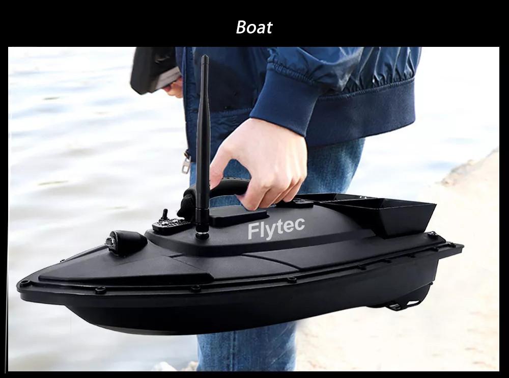 Кораблик для прикормки Flytec V500 №279