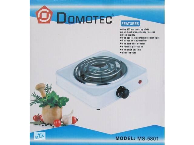 Электроплита спиральная Domotec