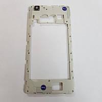 Средняя часть корпуса для Blackview A8 max со стеклом камеры оригинал б/у с разборки