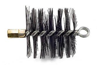 Щетка (ерш) металлическая для чистки дымохода Savent 110 мм