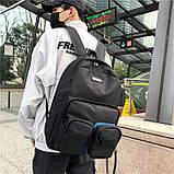 Черный рюкзак, фото 2