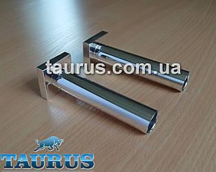 Розбірний маскувальний комплект трубки з фланцем для приховування підключення труб і дроту від электроТЭНа, хром