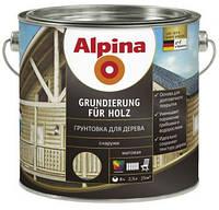 Грунтовка Alpina Grundierung für Holz, 10 л