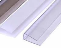 Профиль торцевой П-образный, 8 мм