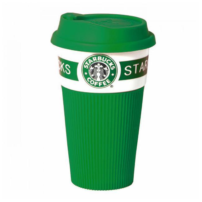 Термокружка Керамическая Starbucks Старбакс Банка Чашка To Go !