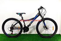 Горный велосипед Azimut Navigator GD 26 дюймов черный