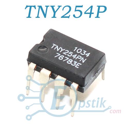 TNY254P, ШИМ контроллер Low Power Off-line switcher, DIP7