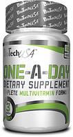 Витамины BioTechUSA One-a-Day 100 tabs 77774, КОД: 984610