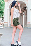 Ультрамодная летняя Юбка - шорты 42-60р, фото 6
