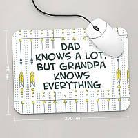 Коврик для мыши 290x210 For Grandpa