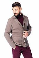 Мужская кофта-пиджак SVTR 54 Темно-бежевый 390, КОД: 1067461