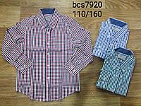 Рубашки для мальчиков оптом, Glo-story, 110-160 рр., арт. BCS-7920, фото 1