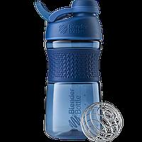 Спортивная бутылка-шейкер BlenderBottle SportMixer Twist 590 ml Navy, КОД: 977623