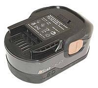 Аккумулятор для шуруповерта AEG B1414G 1.4Ah 14.4V Черный 352110, КОД: 1098744