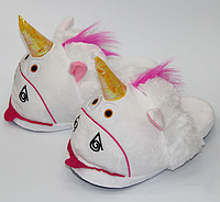 Женские тапочки-игрушки Kronos Top Единороги размер 36-39 stet1230, КОД: 943806