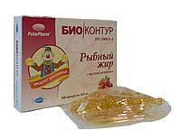 Рыбный жир 20 % омега 3 с маслом шиповника 100 капсул БиоКонтур