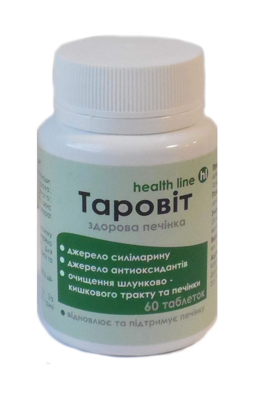 Таровит здоровая печень 60 таблеток ТМ Витера