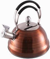 Чайник Fissman Cairoi со свистком 2.3 л FN-KT-5910psg, КОД: 170948