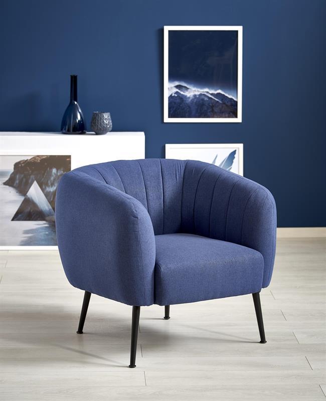 Кресло LUSSO Halmar  синий