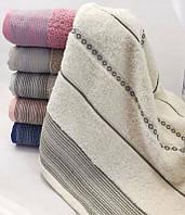 Набор 6 махровых полотенец Sweet Dreams M14 70х140 см банные Разноцветные psgSA-2734, КОД: 944283