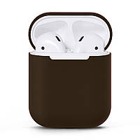 Чехол для AirPods silicone case Brown, КОД: 370929